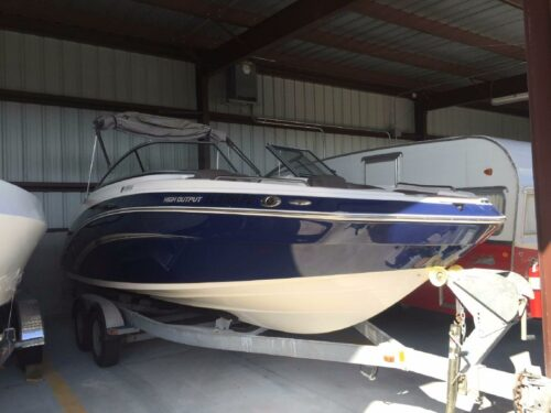 Used Boat - Fort Myers- 2011 Yamaha Sport Boat 242 on Trailer